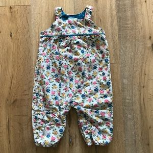 Baby Boden Lined Coverall Dungarees
